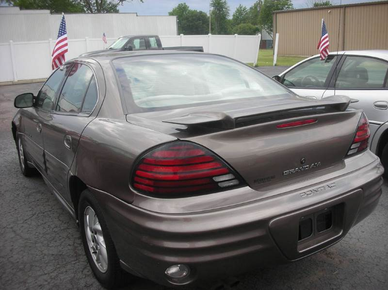 2001 Pontiac Grand Am SE1 4dr Sedan - Defiance OH