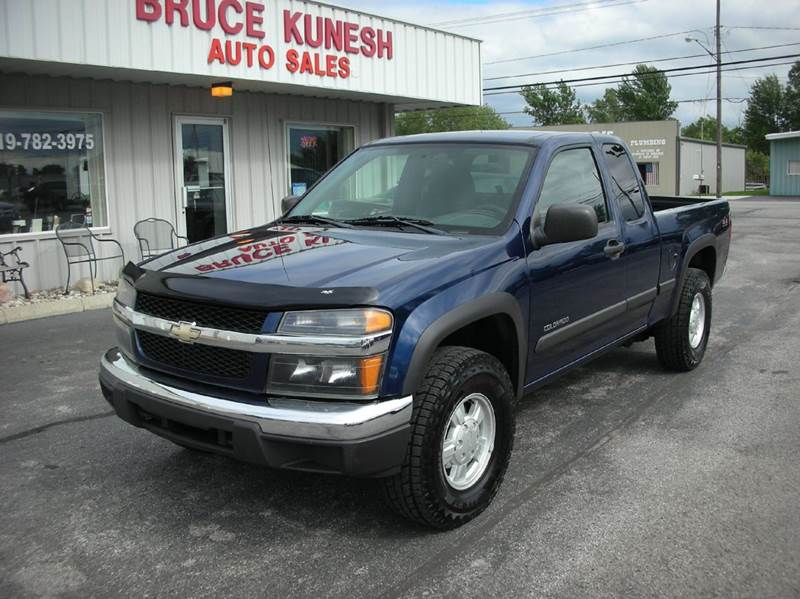 2004 Chevrolet Colorado 4dr Extended Cab Z85 4WD SB - Defiance OH
