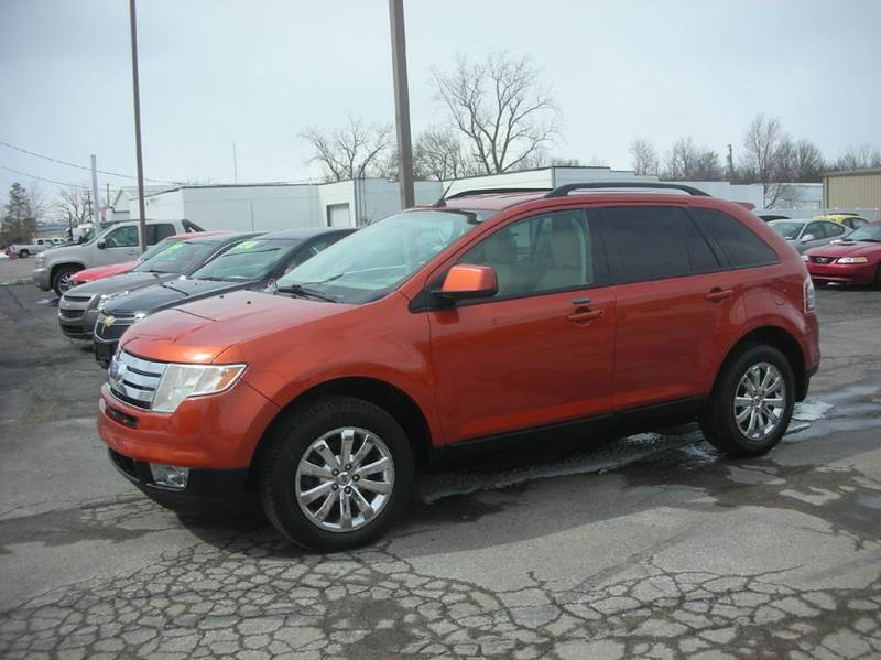 2007 ford edge awd sel plus 4dr suv in defiance oh bruce kunesh auto sales inc. Black Bedroom Furniture Sets. Home Design Ideas