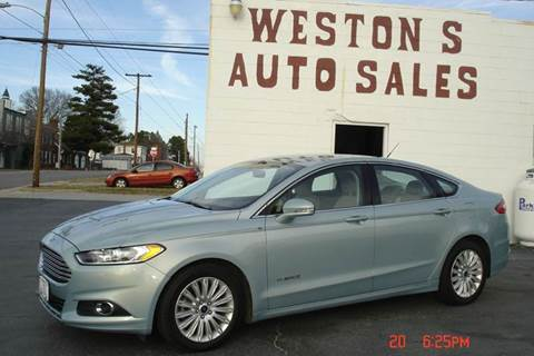 2013 Ford Fusion Hybrid for sale in Crewe, VA