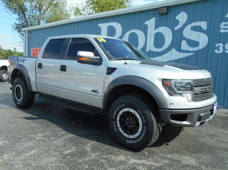 2014 Ford F-150 4x4 SVT Raptor 4dr SuperCrew Styleside 5.5 ft. SB - Skiatook OK