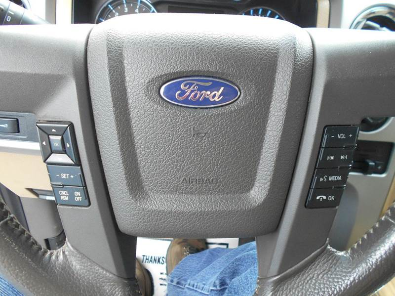 2011 Ford F-150 4x4 Lariat 4dr SuperCrew Styleside 5.5 ft. SB - Skiatook OK