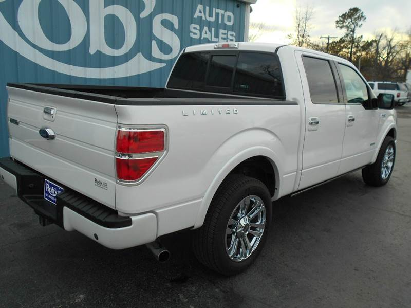 2013 Ford F-150  4x4  SuperCrew Limited - Skiatook OK