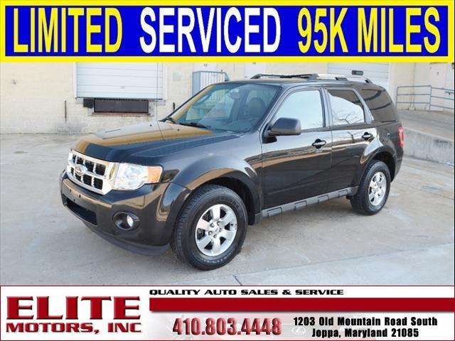2011 ford escape limited 4dr suv in joppa md elite for Elite motors joppa md