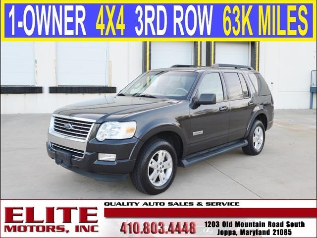 2007 ford explorer xlt 4dr suv 4wd v6 in joppa md elite for Elite motors joppa md