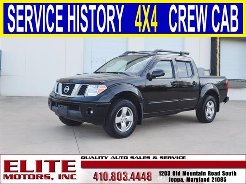 Nissan frontier for sale in joppa md for Elite motors joppa md