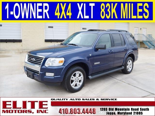 2008 ford explorer 4x4 xlt 4dr suv v8 in joppa md for Elite motors joppa md