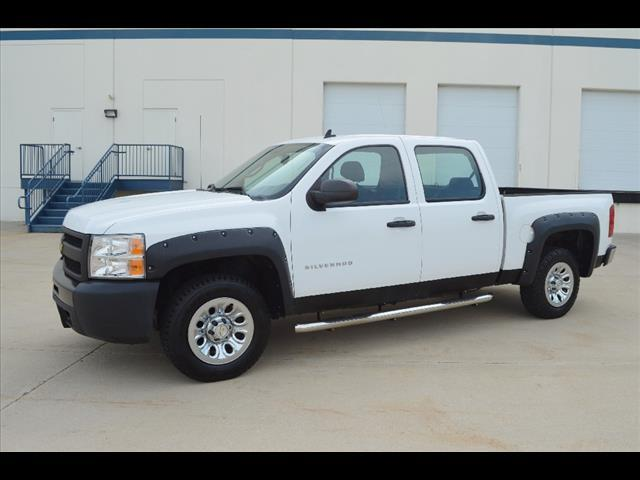 2010 chevrolet silverado 1500 4x4 work truck 4dr crew cab for Elite motors joppa md