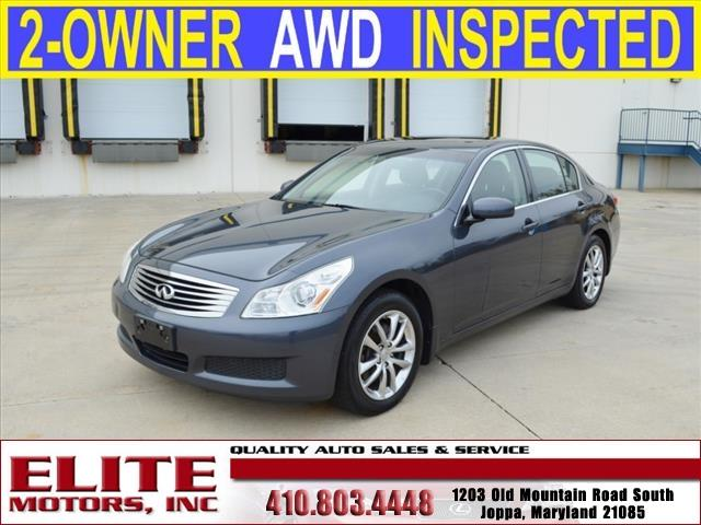 2008 Infiniti G35 x AWD 4dr Sedan - Joppa MD