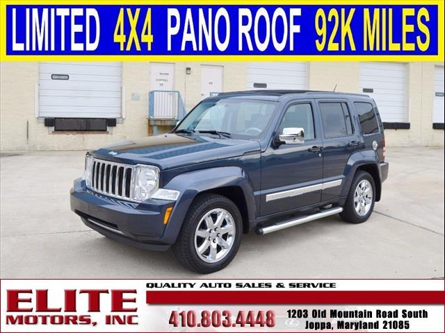 2008 jeep liberty limited 4x4 4dr suv in joppa md elite for Elite motors joppa md