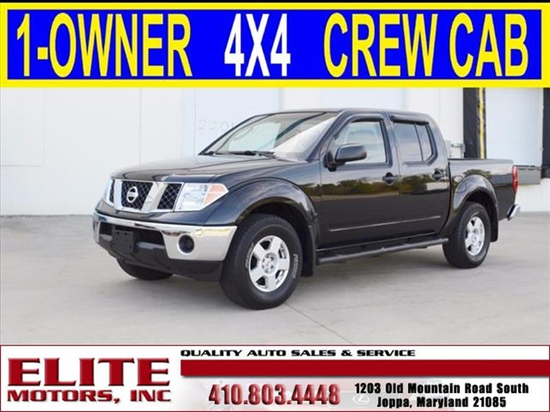 2006 nissan frontier for sale in tuscaloosa al for Elite motors joppa md