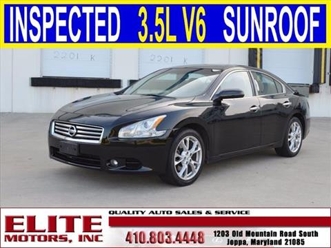 2012 nissan maxima for sale for Weakley county motors martin tn