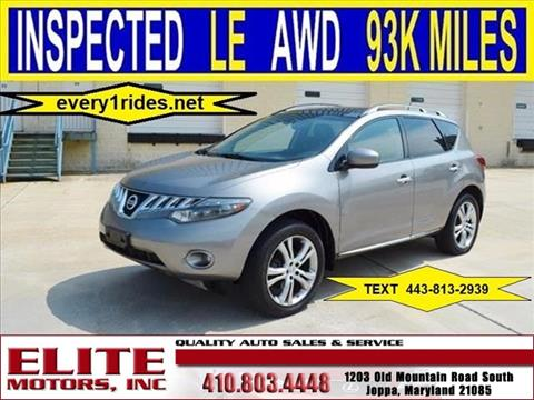 2009 Nissan Murano for sale in Joppa, MD
