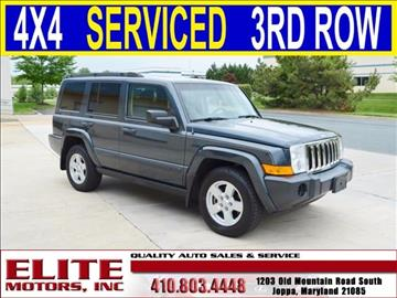 2007 Jeep Commander for sale in Joppa, MD
