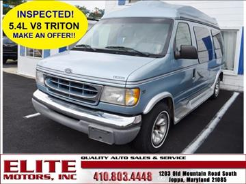 Ford e 150 for sale for Elite motors joppa md