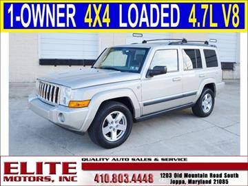 2008 Jeep Commander for sale in Joppa, MD