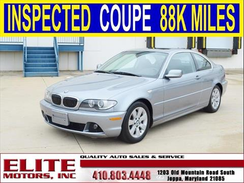 Bmw 3 series for sale in joppa md for Elite motors joppa md