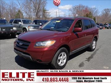 2008 Hyundai Santa Fe for sale in Joppa, MD