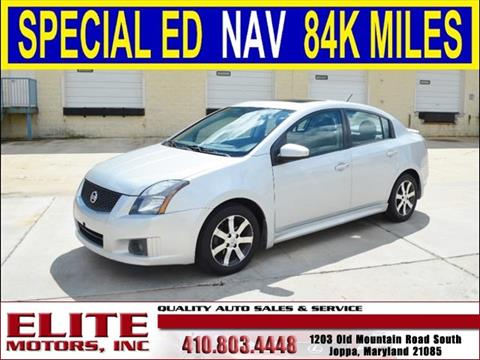 2011 Nissan Sentra for sale in Joppa, MD