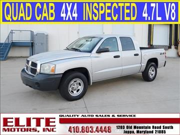 Dodge dakota for sale maryland for Elite motors joppa md