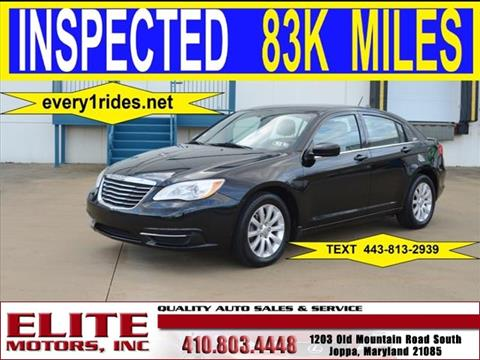 Chrysler for sale in joppa md for Elite motors joppa md
