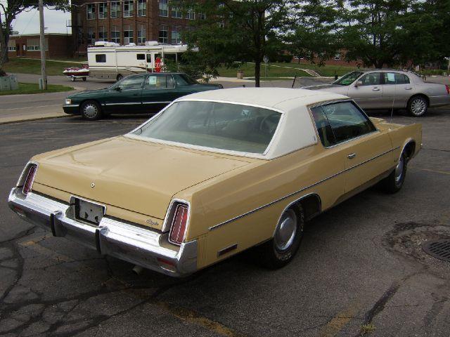 1975       Chrysler       Newport    In Onsted Ann Arbor Grand Rapids D D