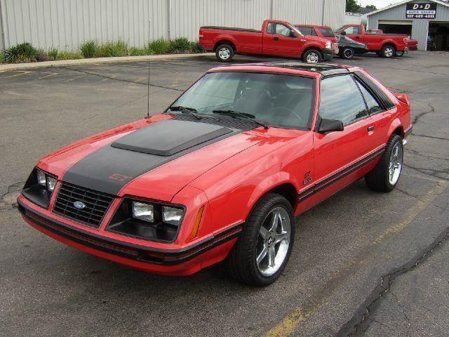 1983 ford mustang gt 2dr hatchback in onsted mi d d auto. Black Bedroom Furniture Sets. Home Design Ideas
