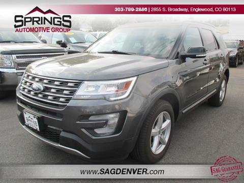 2016 Ford Explorer for sale in Englewood, CO