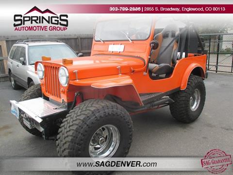 1948 Jeep Willys for sale in Englewood, CO