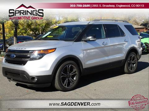 2014 Ford Explorer for sale in Englewood, CO