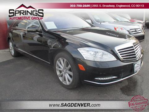 2013 Mercedes-Benz S-Class for sale in Englewood, CO