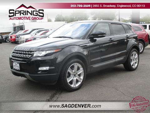 2012 Land Rover Range Rover Evoque for sale in Englewood, CO