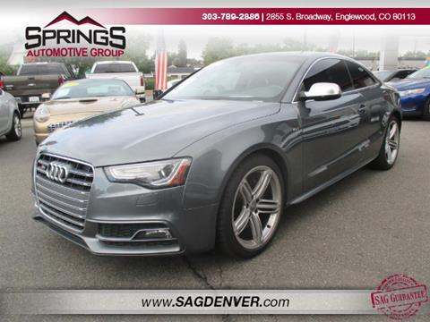 2013 Audi S5 for sale in Englewood, CO