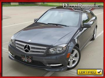 2011 Mercedes-Benz C-Class for sale in Richardson, TX