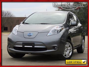 2016 Nissan LEAF for sale in Richardson, TX