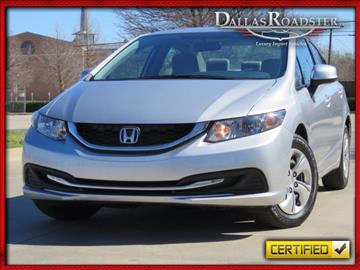 2013 Honda Civic for sale in Richardson, TX