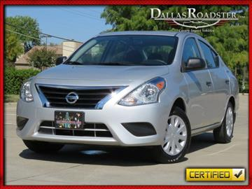 2015 Nissan Versa for sale in Richardson, TX