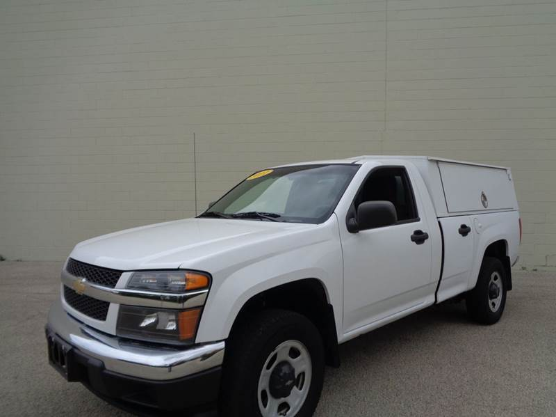 2011 Chevrolet Colorado 4x2 Work Truck 2dr Regular Cab Chassis - Loves Park IL