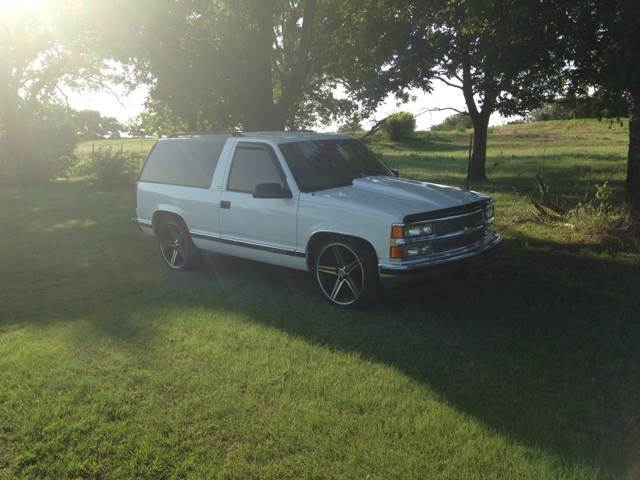 1997 Chevrolet Tahoe Ls 2dr Suv In Castle Ok 48 Auto