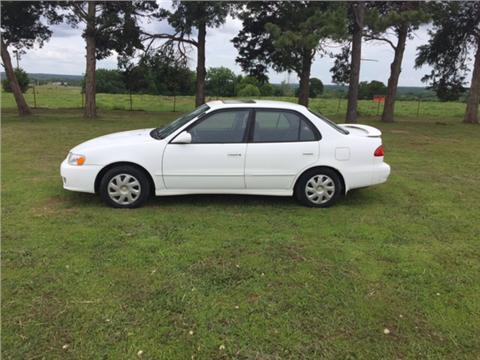 2001 Toyota Corolla for sale in Castle, OK