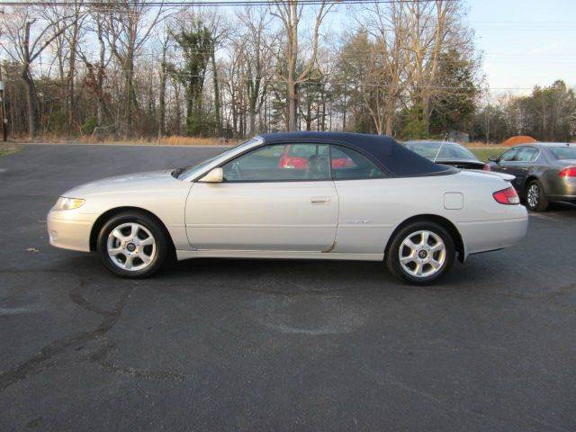 2000 toyota camry solara sle v6 2dr convertible in conover. Black Bedroom Furniture Sets. Home Design Ideas