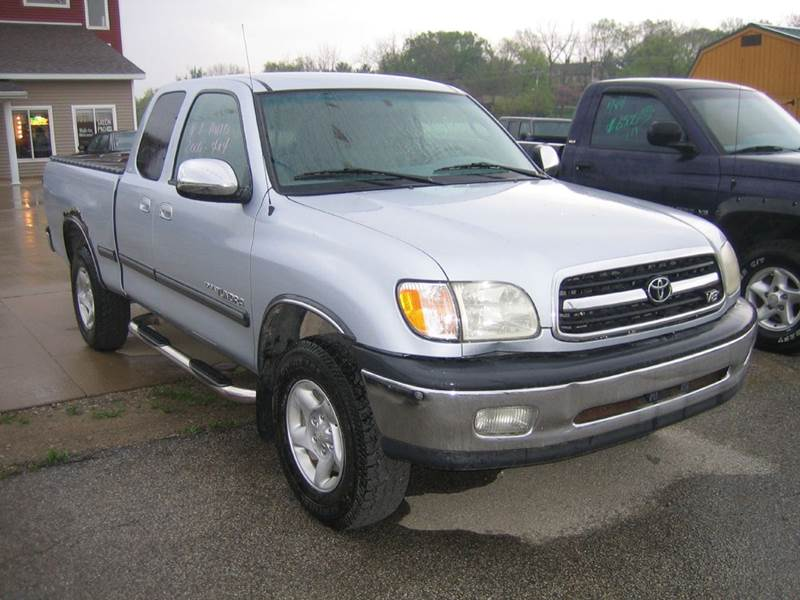 2000 Toyota Tundra Sr5 4dr V8 4wd Extended Cab Sb In Mt