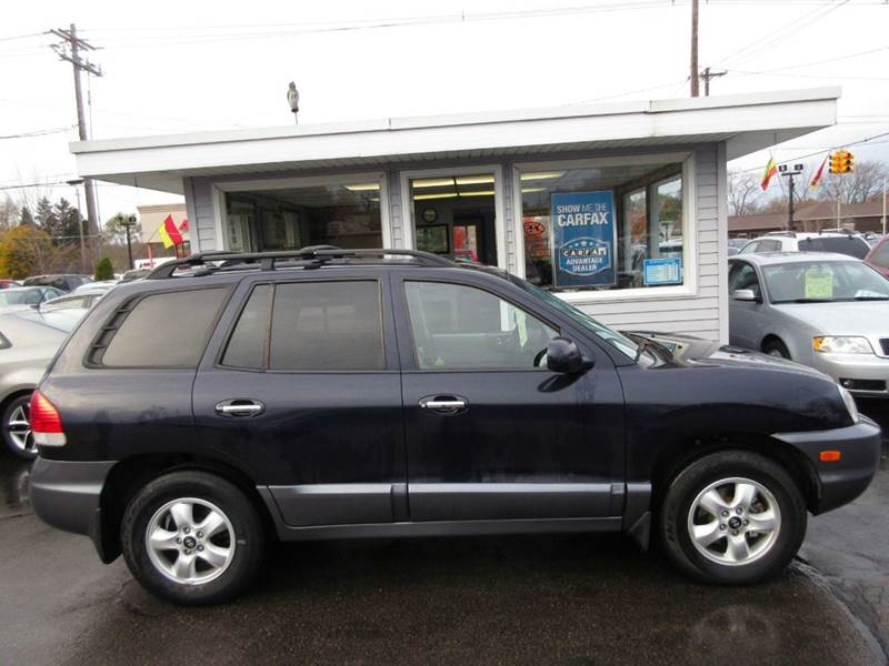 2005 hyundai santa fe awd gls 4dr suv in zeeland mi marv. Black Bedroom Furniture Sets. Home Design Ideas