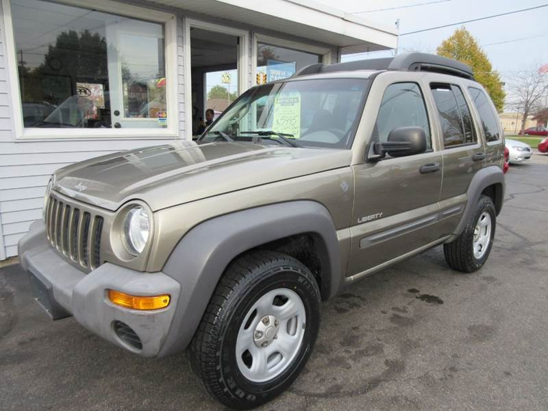 2004 jeep liberty 4dr sport 4wd suv in zeeland mi marv 39 s car lot inc. Black Bedroom Furniture Sets. Home Design Ideas