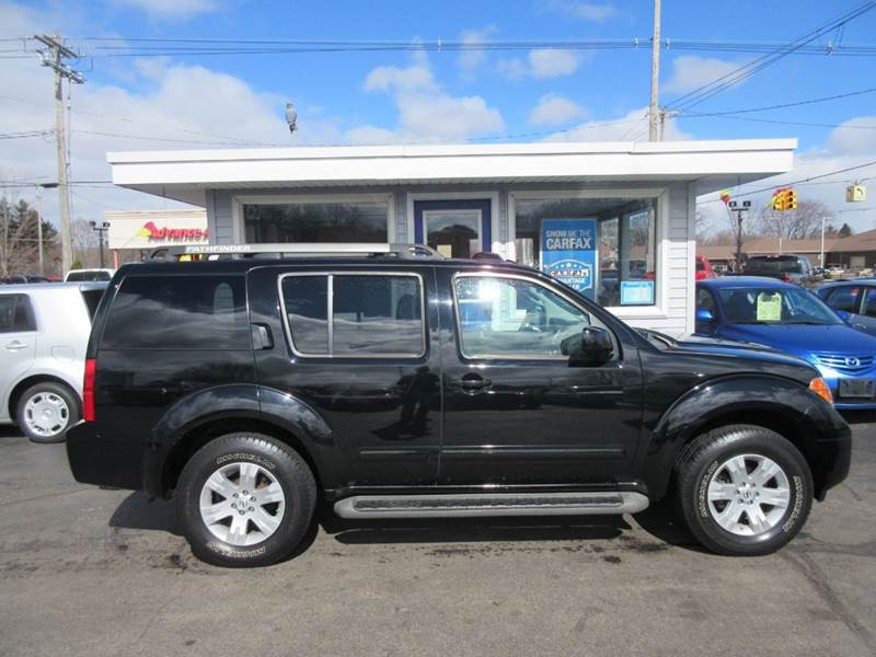 2007 nissan pathfinder le 4dr suv 4wd in zeeland mi marv. Black Bedroom Furniture Sets. Home Design Ideas
