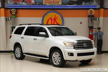 2012 Toyota Sequoia for sale in Addison, TX
