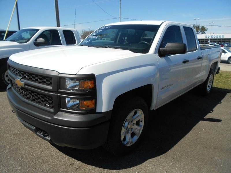 2014 Chevrolet Silverado 1500 4x4 Work Truck 4dr Double Cab 6.5 ft. SB w/1WT - Greenville MI