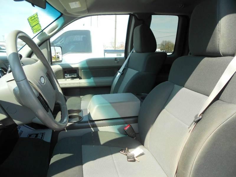 2008 Ford F-150 4x4 XLT 4dr SuperCab Styleside 5.5 ft. SB - Greenville MI