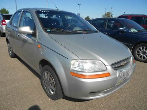 2004 Chevrolet Aveo for sale in Greenville, MI