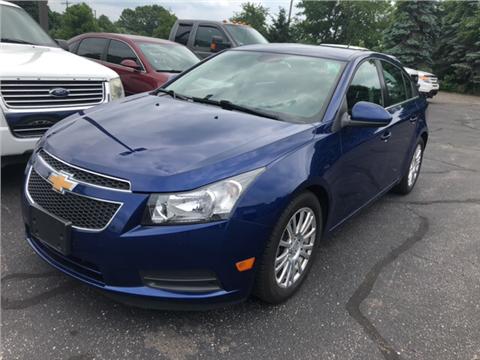 2012 Chevrolet Cruze for sale in Greenville, MI